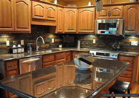 kitchen backsplash ideas with black granite countertops black countertop backsplash ideas backsplash com