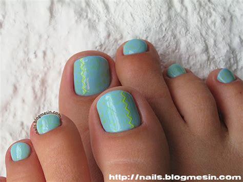 Image Gallery Teal Toenails Teal Toe Nail Designs
