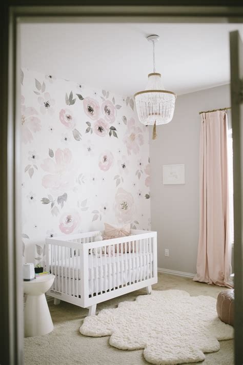 kinderzimmer tapezieren ideen s floral whimsy nursery project nursery