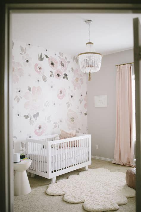 Nursery Decor Wallpaper S Floral Whimsy Nursery Project Nursery