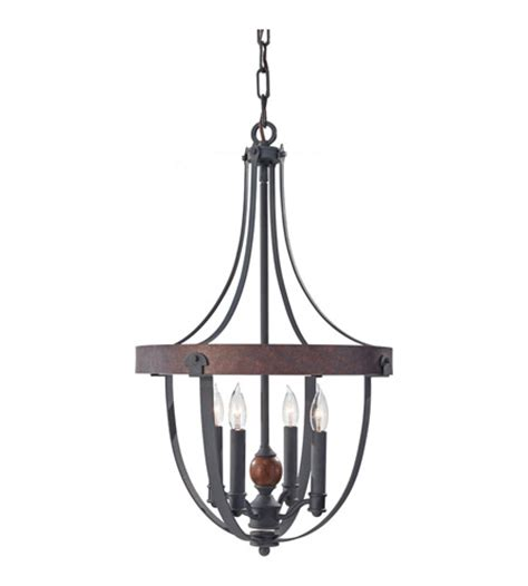 Acorn Chandelier Feiss F2798 4af Cba Alston 4 Light 16 Inch Antique Forged Iron Charcoal Brick Acorn Chandelier