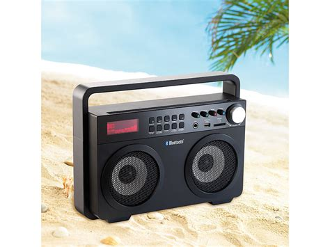 Mp3 Player 20 by Auvisio Ghettoblaster Mps 689 Bt Mit Bluetooth Radio Und