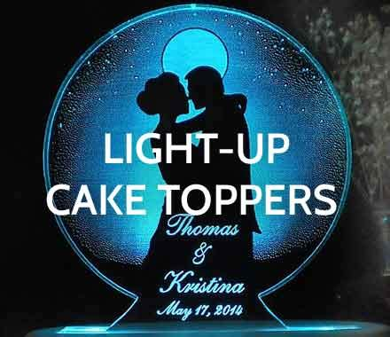 light up cake topper wedding cake toppers wedding collectibles