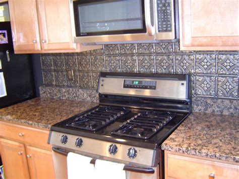 Tin Backsplash For Kitchen Tin Backsplash Pictures And Design Ideas
