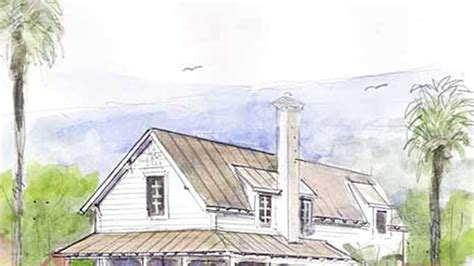 southern living house plans 2008 habersham cottage floorplans southern living