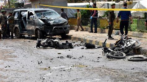 irakta bombali saldiri  oelue  yarali duenya haberleri