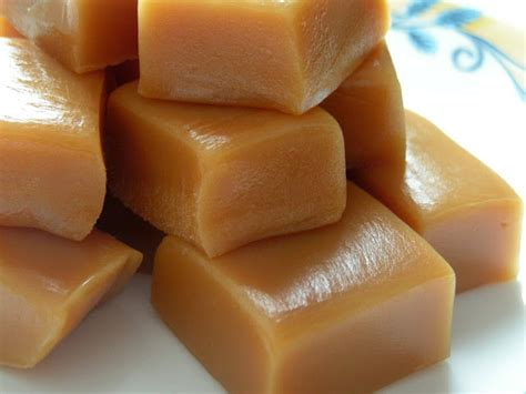 Handmade Caramels - baking caramels butter with a side of