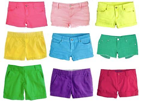 colored denim shorts colored denim shorts baggage clothing