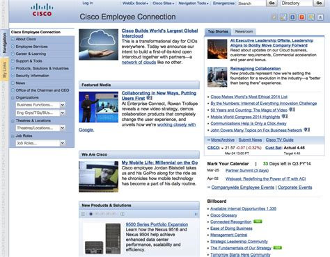 great intranets part ii cisco systems intranet design intranet consultant social intranet