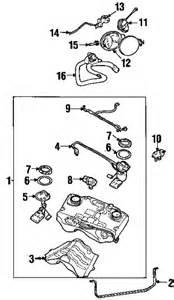 Jaguar X Type Parts Catalog 2003 Jaguar X Type Base Fuel System Gt Fuel System