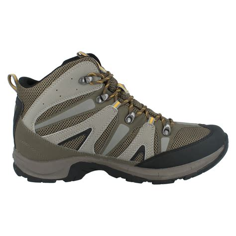 mens hi tec boots mens hi tec casual waterproof lace up hiking boots condor