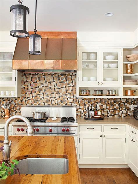 find kitchen find the kitchen color scheme copper kitchen colors and wood countertops