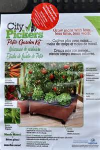 patio pickers raised garden kit city picker grow tomatoes on your porch patio or deck