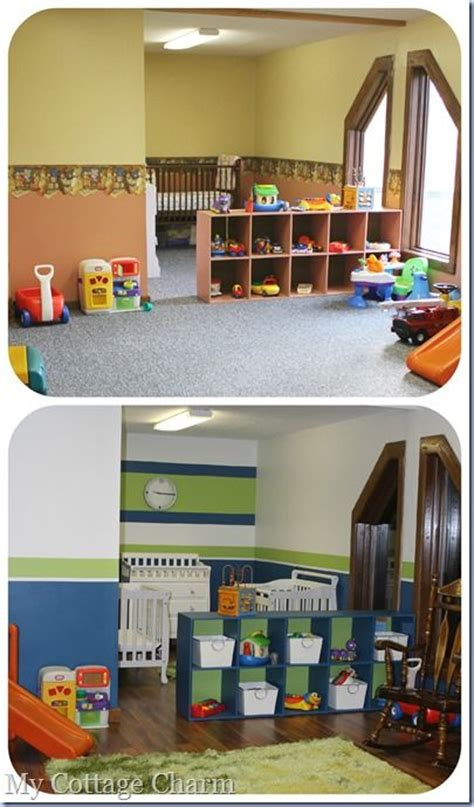 This Church Got Rid Of Their Carpet In The Nursery And Church Nursery Decorations