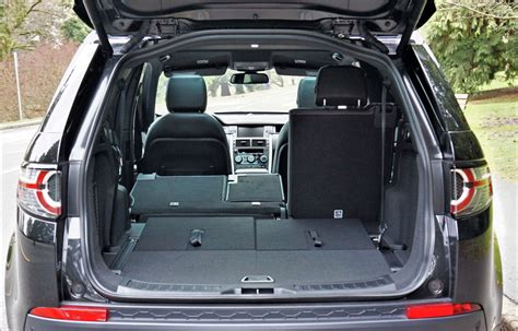 2017 land rover discovery sport trunk land rover discovery cargo volume 2018 cars models