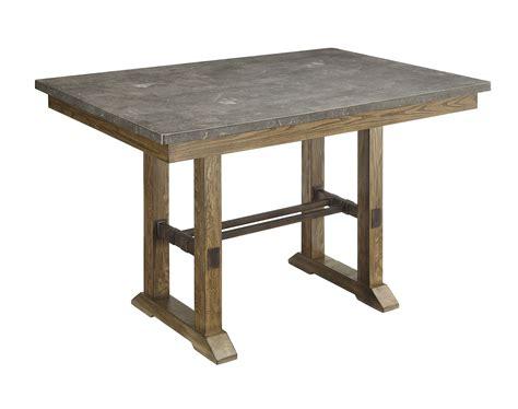 counter height rectangular table coaster willowbrook rectangular counter height table