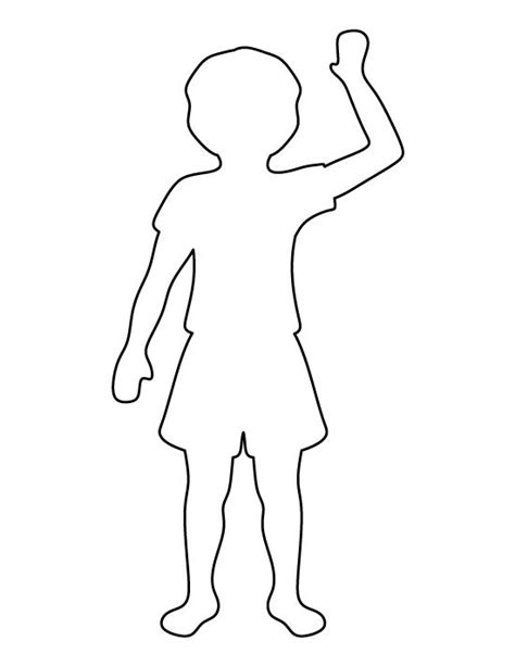 template of child 24 images of boy outline template infovia net