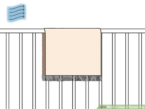 cleaning viscose rugs 3 ways to clean a viscose rug wikihow