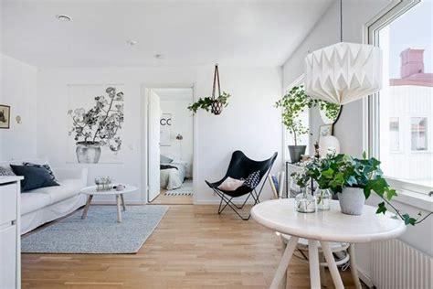 perpaduan abu abu putih  desain interior skandinavian
