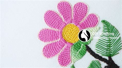 stitches diy embroidery flowers stitch by diy stitching 10