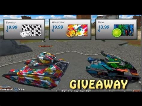 paints online tanki online new paints giveaway youtube