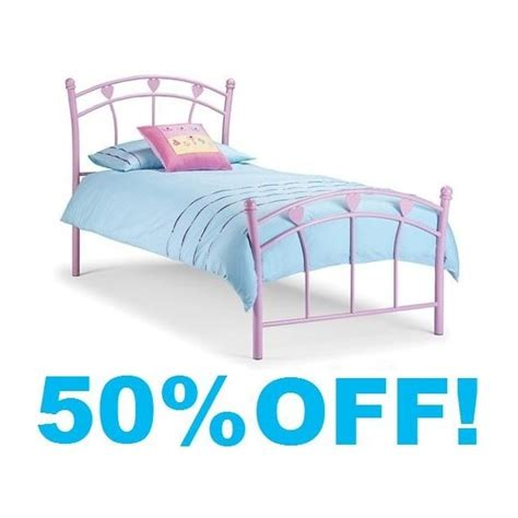 Princess Metal Bed Frame 3ft Single Golf Metal Bed Frame