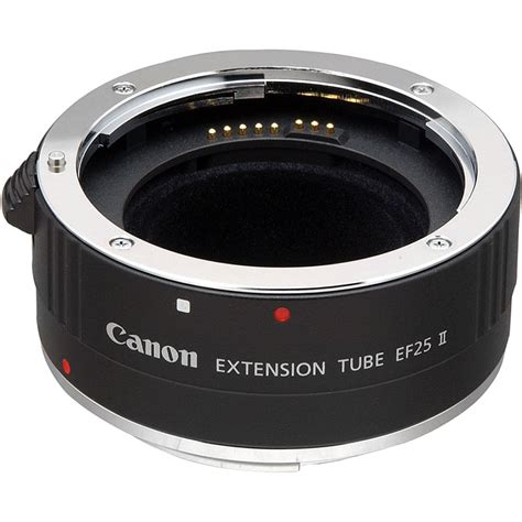 Extention Canon canon extension ef 25 ii 9199a001 b h photo