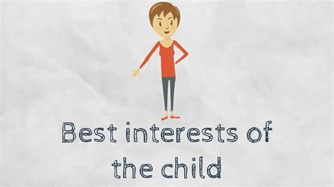best interest on best interests of the child
