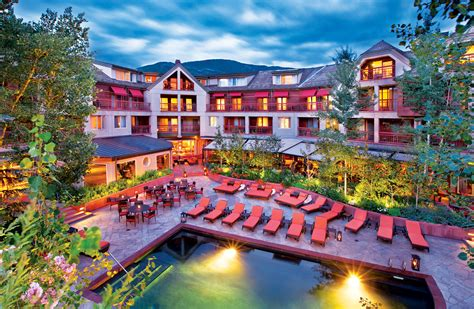 best hotels in aspen colorado 7 only in colorado places to stay colorado