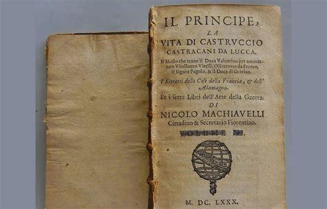 Il Principe Sang Pangeran Niccolo Machiavelli il principe di machiavelli