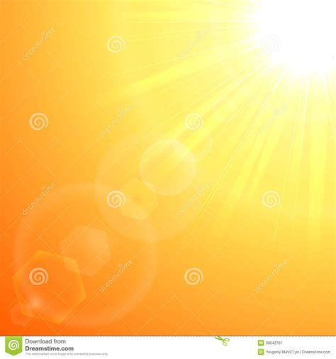 which corner do sts go in orange sun burst stock vector image 39042761
