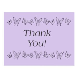 Butterfly Thank You Card Template by Butterfly Thank You Cards Butterfly Thank You Card