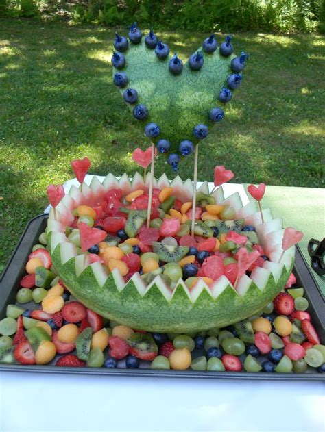 Fruit Salad Ideas For Bridal Shower by 25 Best Ideas About Watermelon Fruit Bowls On
