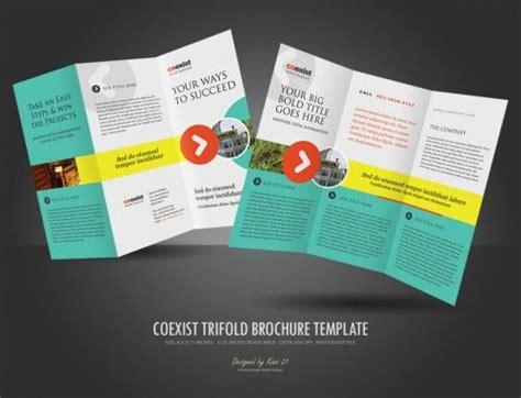 layout brosur gratis 30 contoh desain brosur lipat tiga 30 trifold brochure