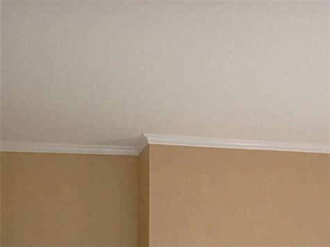 how to install crown molding on top of kitchen cabinets how to install crown molding hgtv