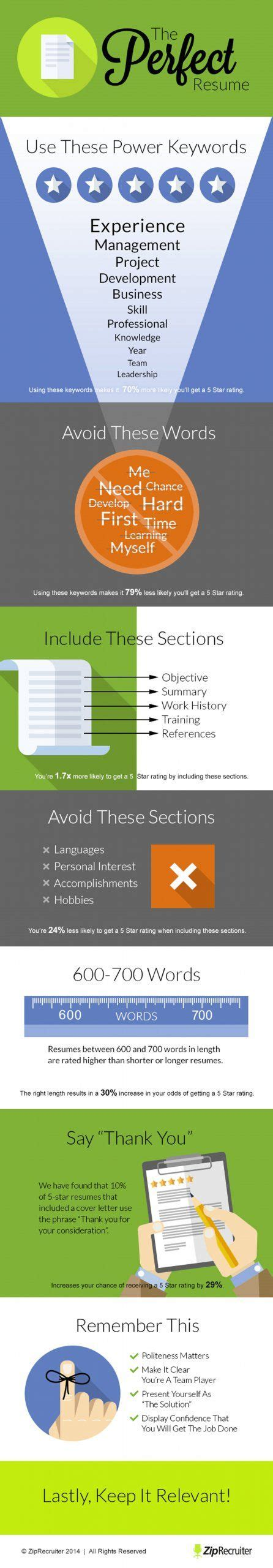 8 secrets to writing the resume resume tips