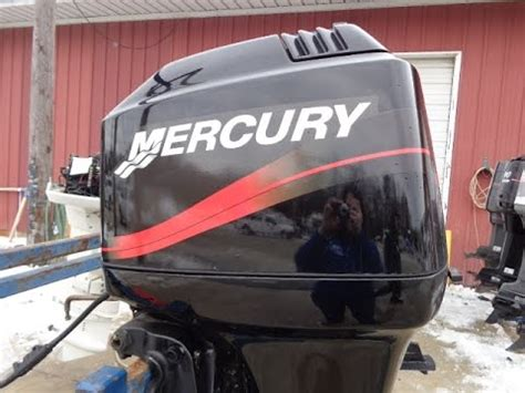 75 hp boat motor for sale 6m4f79 used 2003 mercury 75elpto 75hp 2 stroke remote