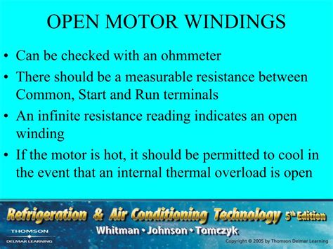 open winding electric motor ppt section 4 electric motors unit 20 troubleshooting