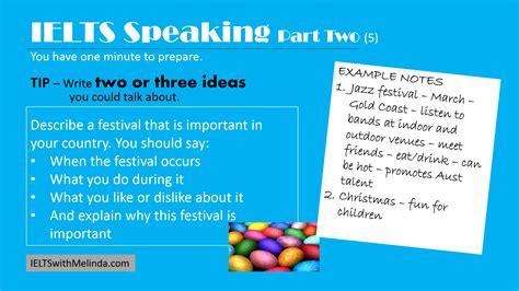 Tips For Speaking 2 by Speaking Ieltswithmelinda