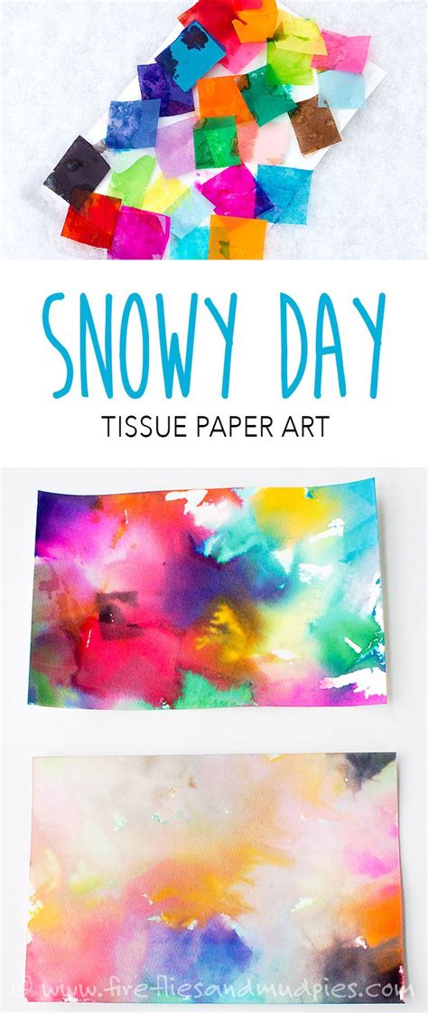 Cool Tissue Paper Crafts - 25 unique tissue paper ideas on textured
