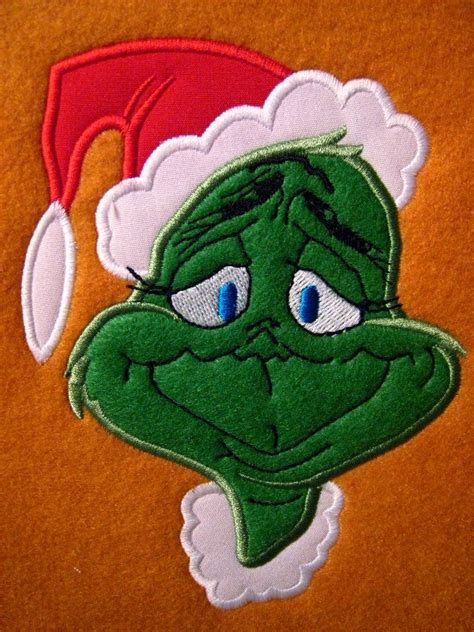 embroidery design grinch 127 best dr seuss images on pinterest christmas ideas
