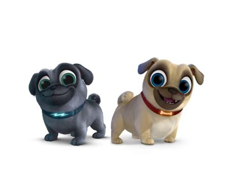 puppy pals bingo meet bingo and rolly pugs from the new disney junior show puppy pals