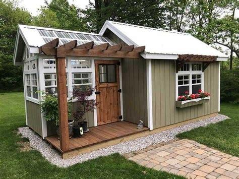 pin  cheryl leek   sheds   backyard sheds