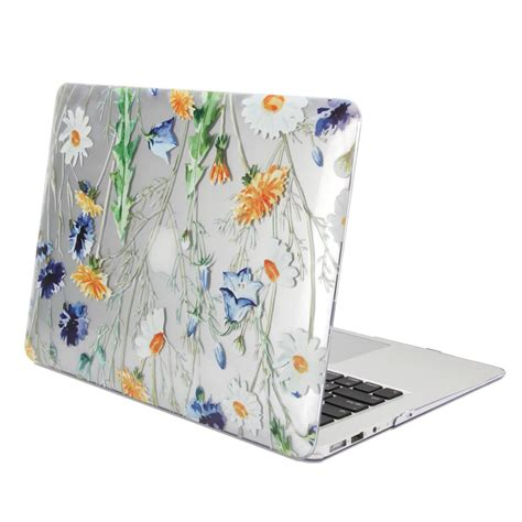 gmyle print glossy for macbook air 13 clear floral pattern ebay