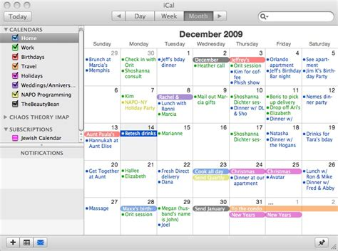 my calendar is color coded chaos theory blog dayna