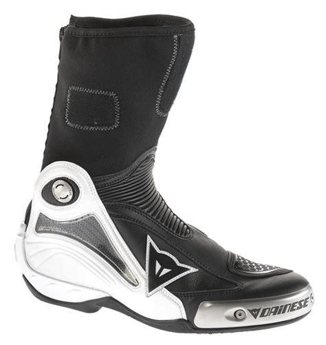 dainese axial pro  motosiklet botu siyah beyaz