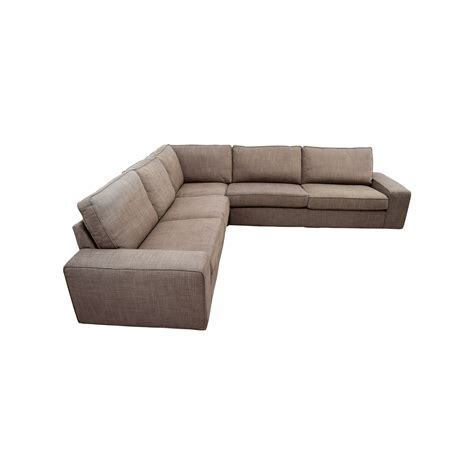 Chaise Ikea 57 by 57 Ikea Ikea Kivik Brown Sectional Sofas