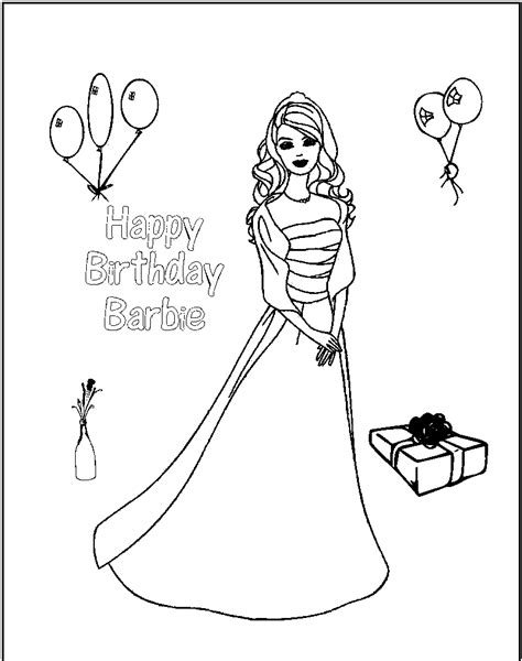 kids barbie barbie for kids black and white for colouring barbie dolls