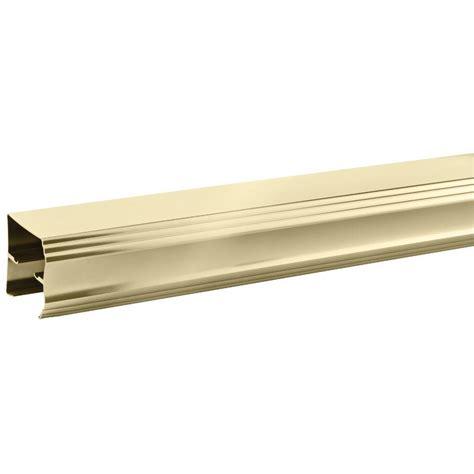 Shower Door Rails 60 In X 56 3 8 In Framed Sliding Bathtub Door Kit In