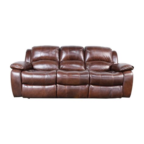 cole leather reclining sofa raymour and flanigan recliner sofa hereo sofa